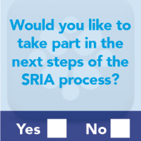 Give your input to a new Strategic Research and Innovation Agenda (SRIA)